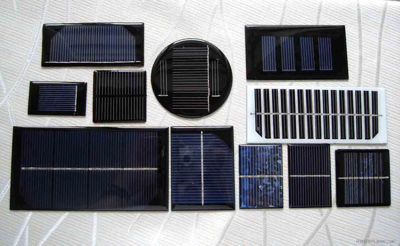 Mini Poly / Pet / Glass Laminated Solar Modules / Solar Panels for Lamps Toys Gifts