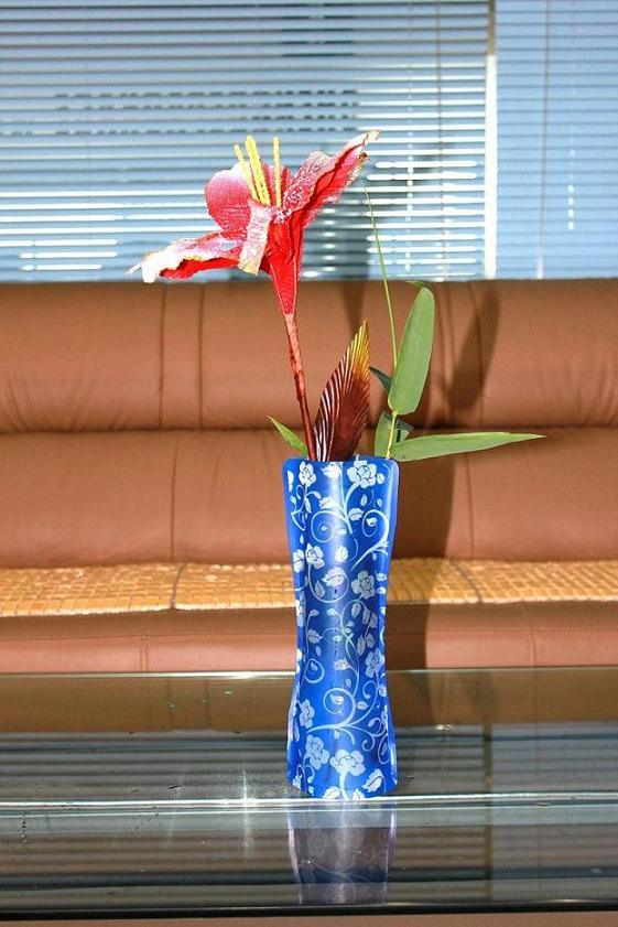 China Plastic Collapsible Vase China Plastic Vase Folding Vase