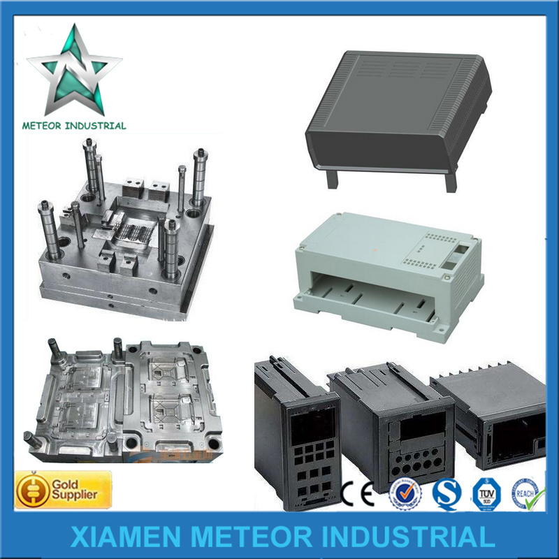 Customized Plastic Injection Mould Plastic Cover Bicycle/Auto Spare Parts Machine Plastic Parts pictures & photos