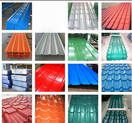 Good Quality Anti-Rust Corrugated Roof Tile