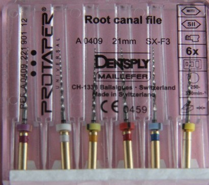 Hight Quality Dentsply Maillefer Protaper Universal Root Canal File pictures & photos