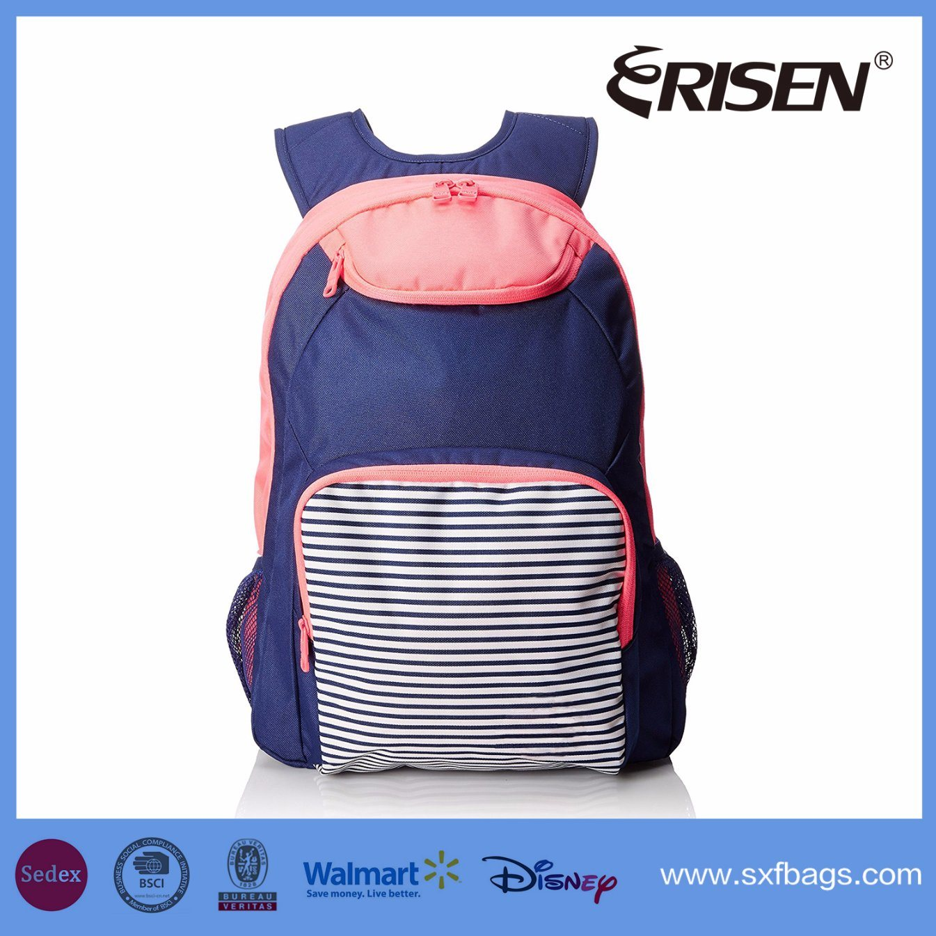 New Arrival Hot Sell Waterproof Travel Backapack School Backpack