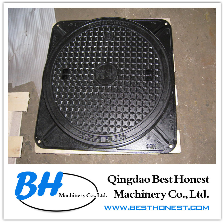 Cast Iron Manhole Cover (Ductile Iron / Grey Iron) pictures & photos