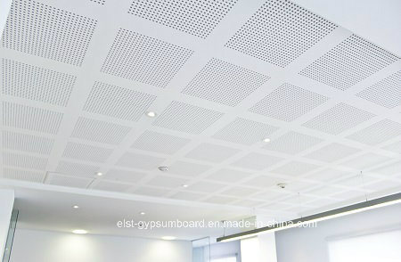 China Perforated Gypsum Board Acoustic Gypsum Ceiling