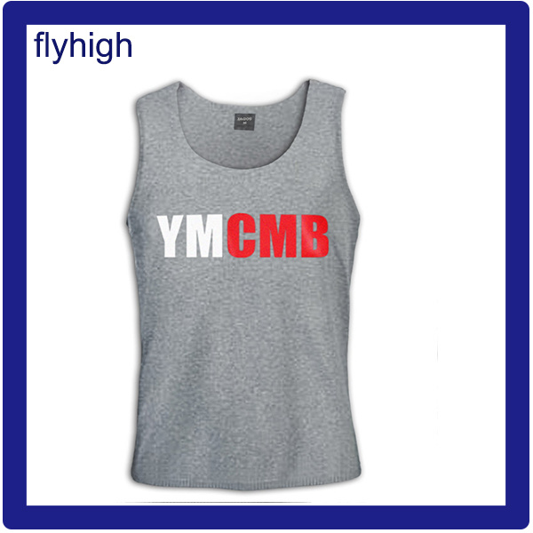 Unisex Cotton Printed Custom Promotional Tank Top