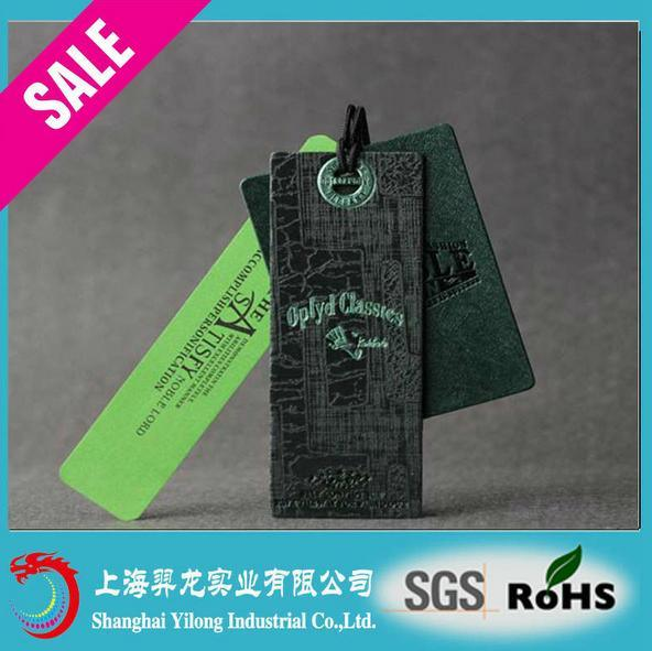 Hot Sale Fashion New Design Paper Hang Tag for Garment pictures & photos