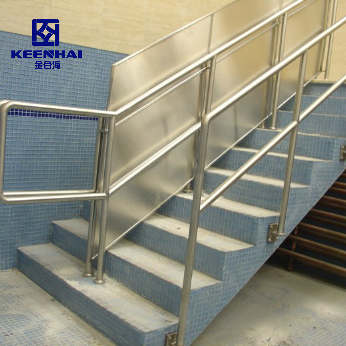 China Modern Decoration 304 Stainless Steel Stair Balustrade China Handrail Stainless Steel Handrail