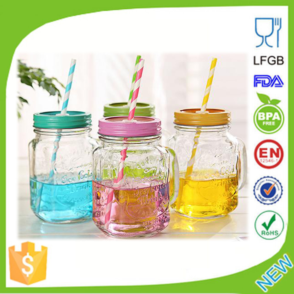 e4ecd528fbdf [Hot Item] 16oz Wholesale Plastic Mason Jars for Wholesale