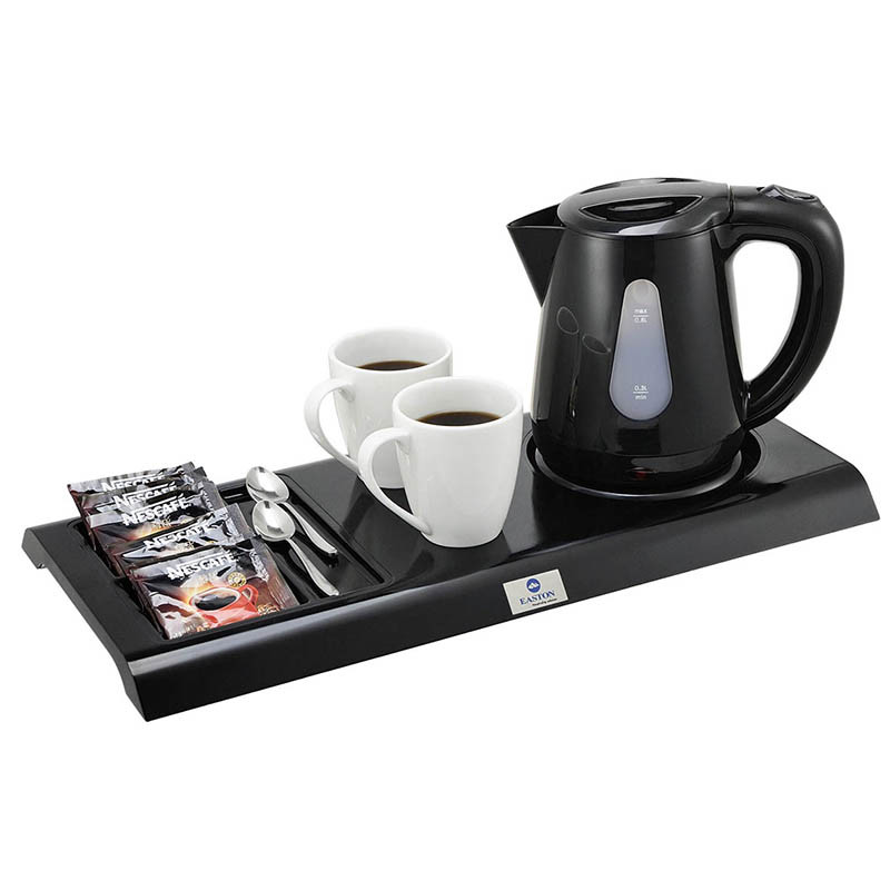 Hospitality Electric Kettle Cordless Kettle with Service Tray