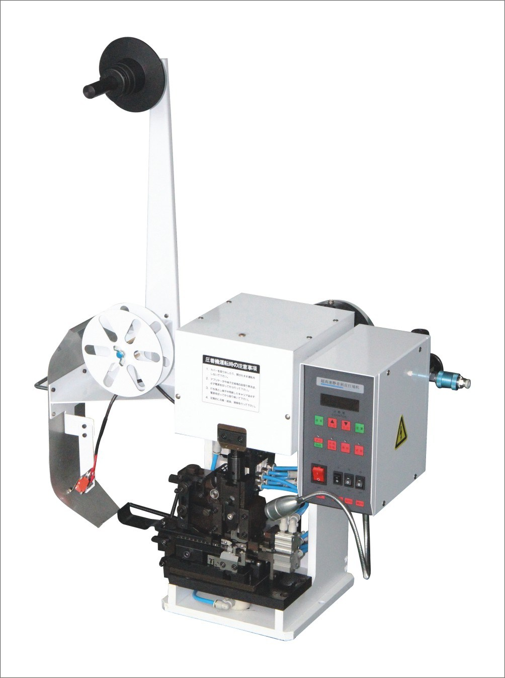 China Bzw-2t-D Semi-Automatic Wire Stripping and Terminal Crimping ...