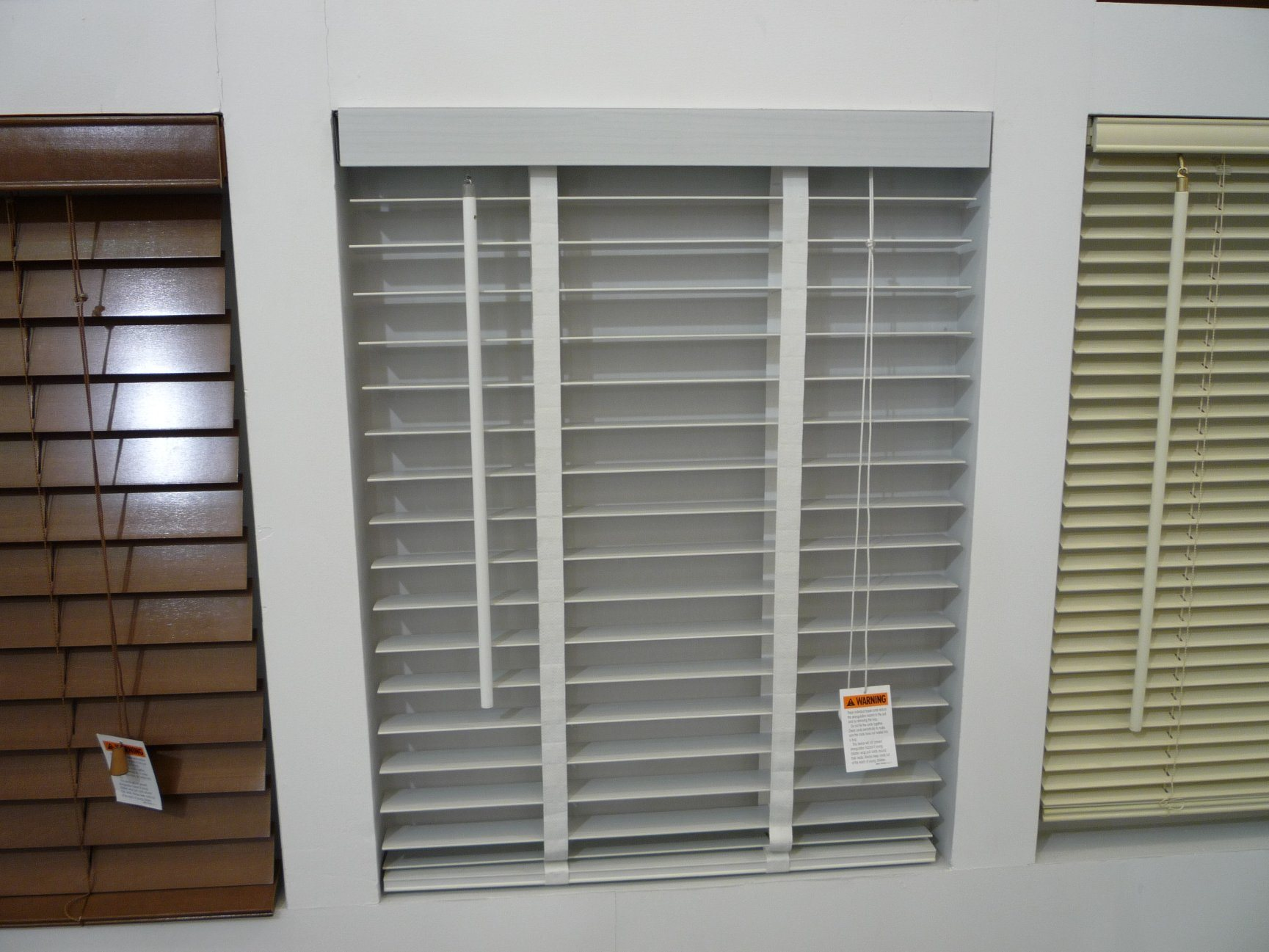 50mm Wooden Venetian Blinds for Window Decor with Manual Control