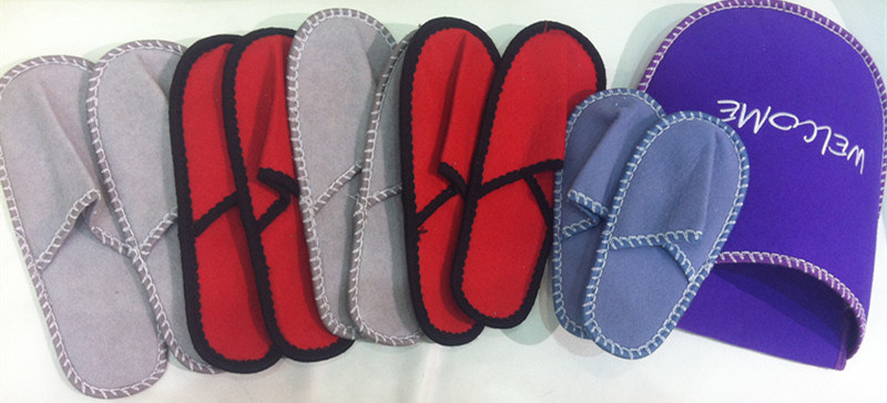 Family Use Slipper Set / 5 in 1 Indoor Slipper pictures & photos