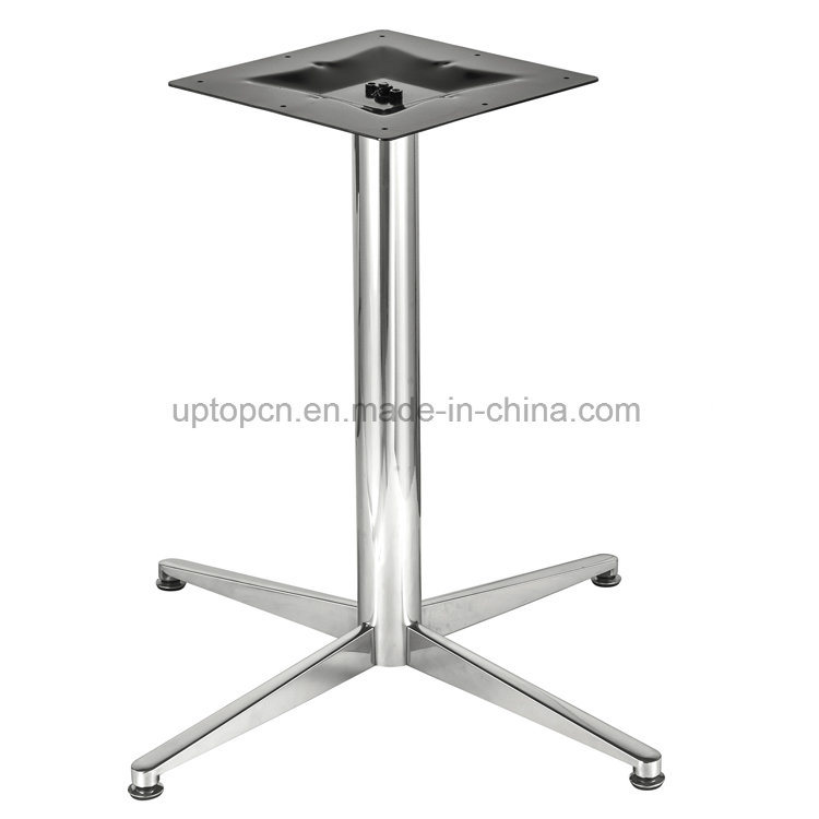 Hot Item Stainless Steel Dining Table Base For Restaurant Furniture Sp Stl006
