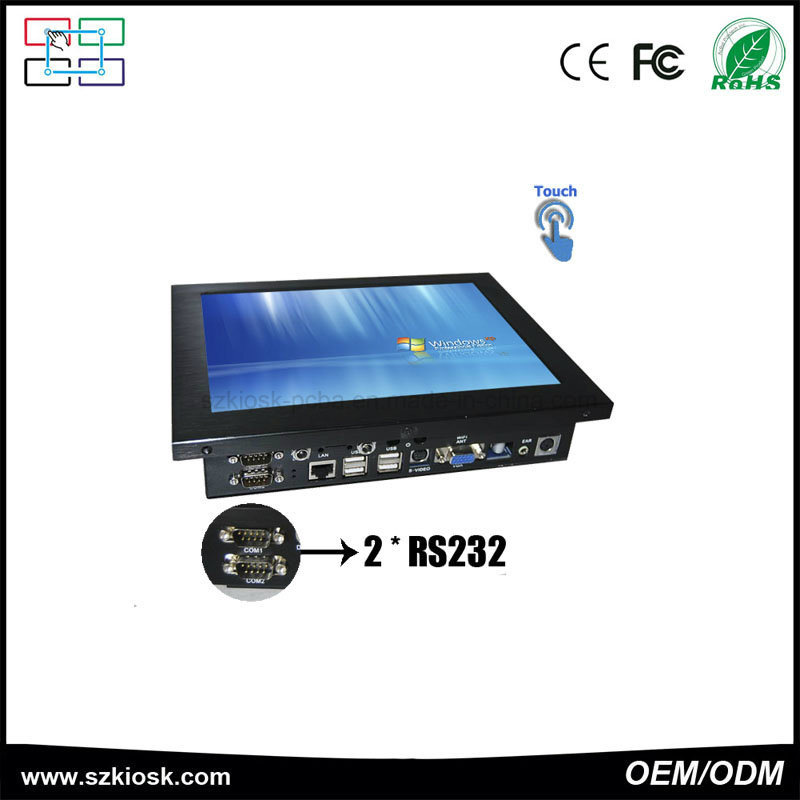 10.4 Inch All in One Computer Touch Screen Kiosk