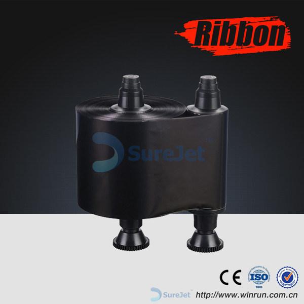 Monochrome Ribbon 1000 Prints K Zebra 800015-101 Black