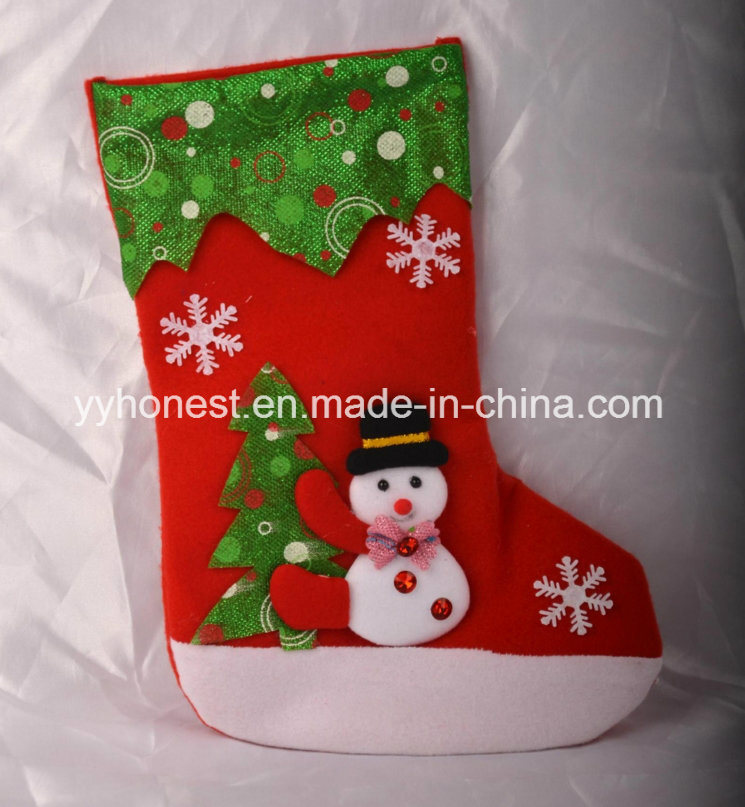 China Wholesale Christmas Decorations Present Stockings Socks Photos