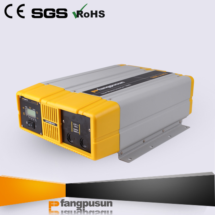 Prosine 1800 Fangpusun 12VDC to 110V/220VAC Signel Phase Pure Sine Wave Car Power Inverter 1800W pictures & photos