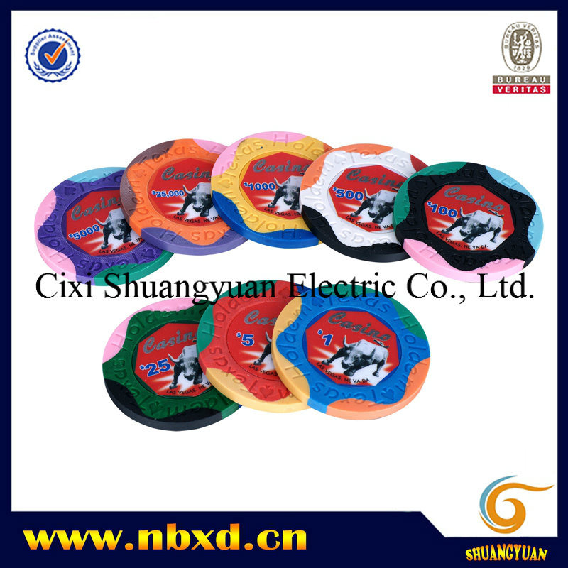 9.5g 4-Tone Clay Sticker Chip (SY-C12) pictures & photos