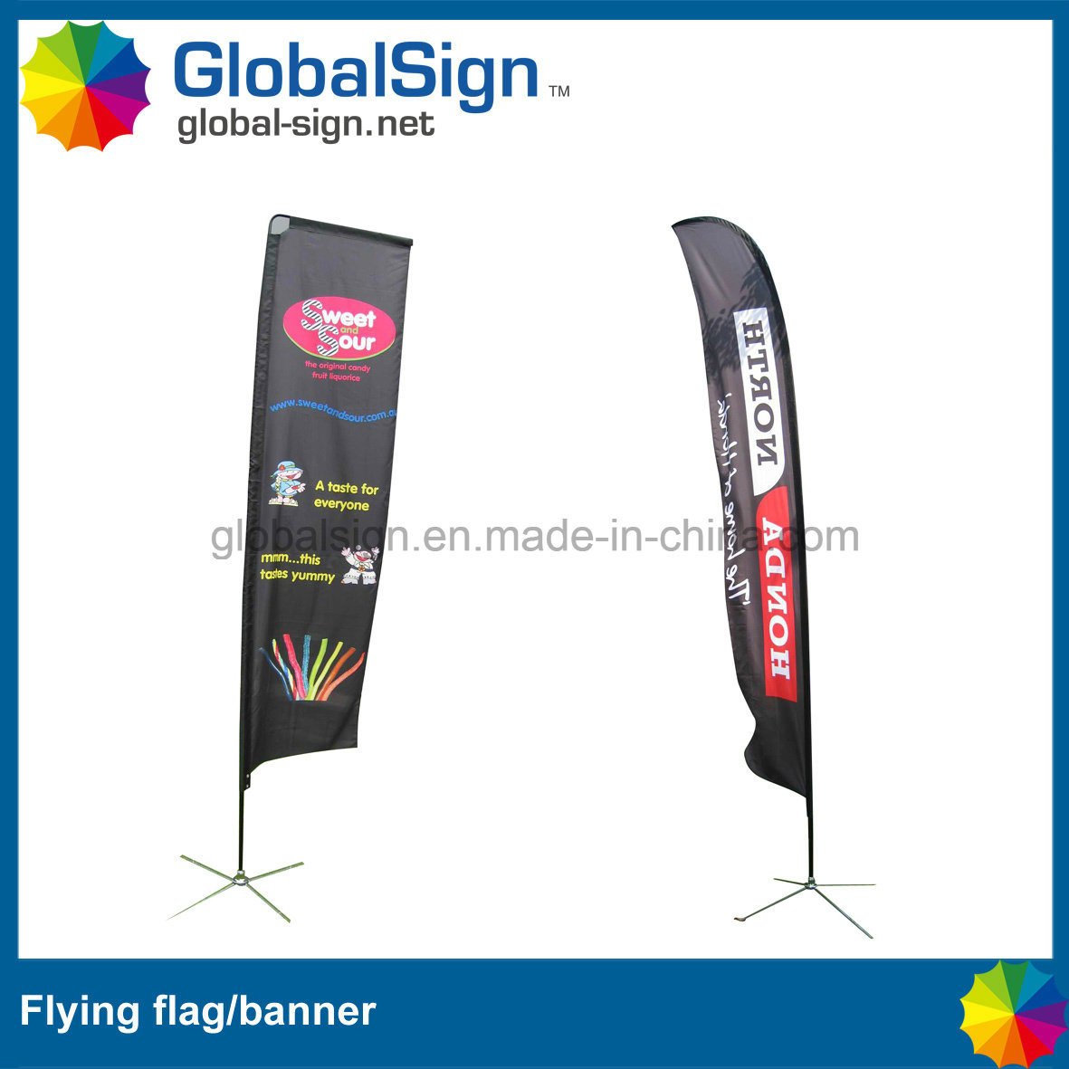 Cheap and High Quality Flying Flags, Beach Flag for Events