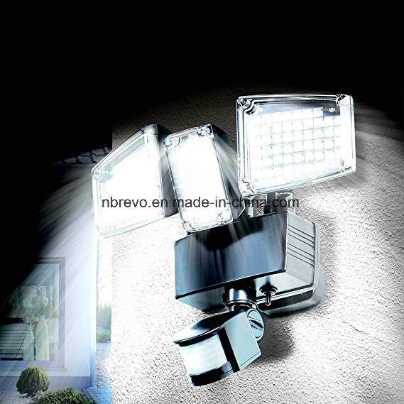 Hot Item Three Head Solar Motion Sensor Outdoor Security Light Rs2178