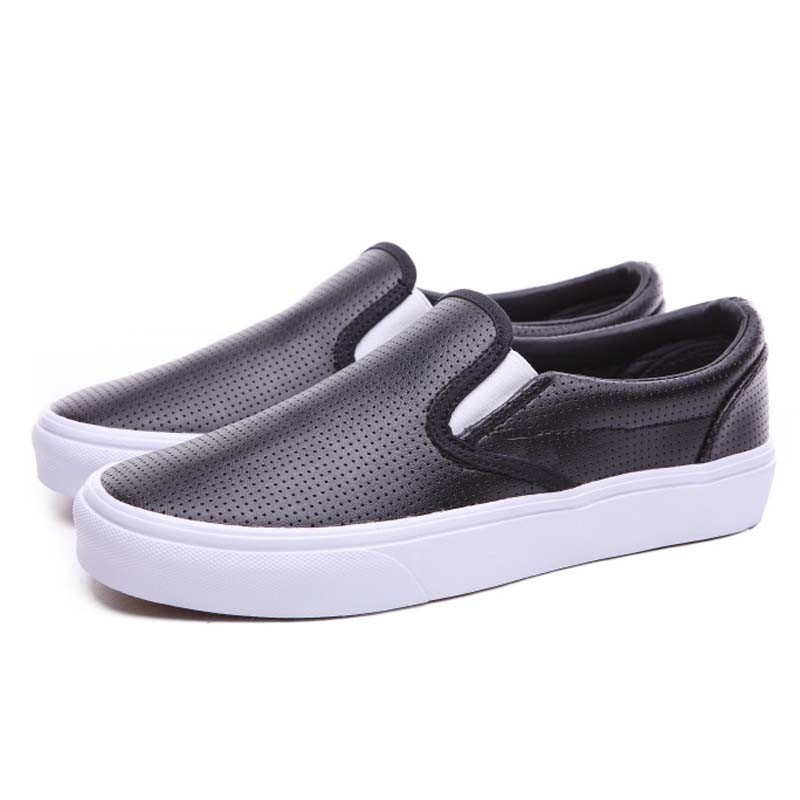 963dd05c105 China No Lace Grey Punch Hole Leather Fabric Rubber Plimsolls Shoes ...