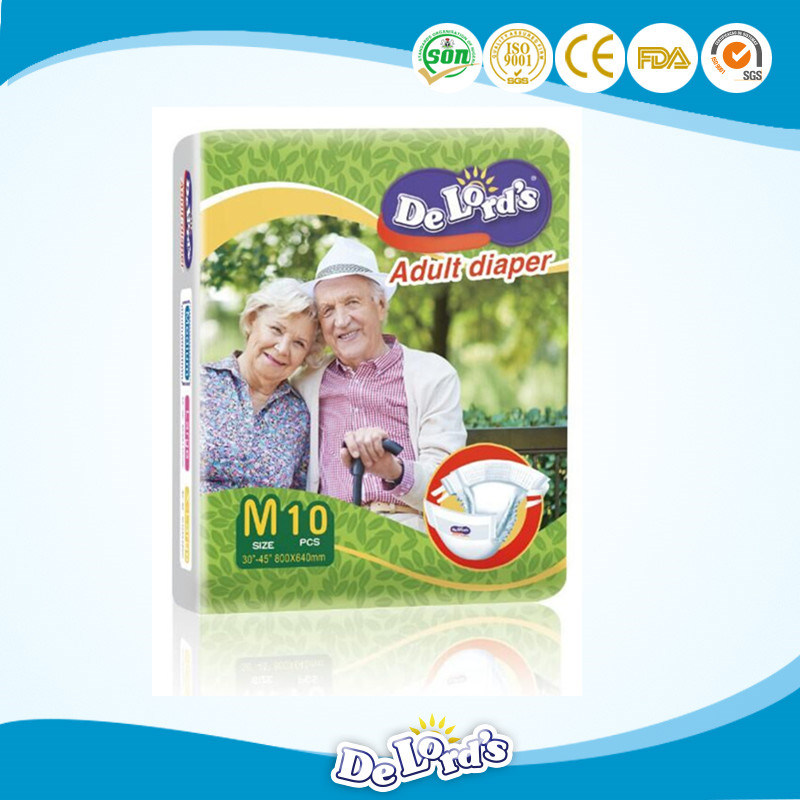Incontinent People High Quality Disposable Adult Diaper pictures & photos