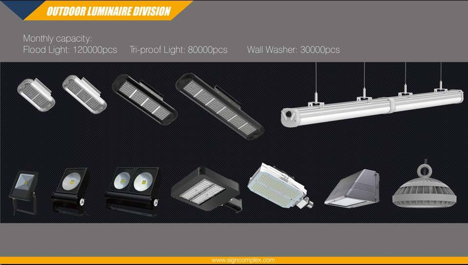 Waterproof IP65 COB 50 W Flood Light DC 12V-24V Slim LED Projector Lamp pictures & photos