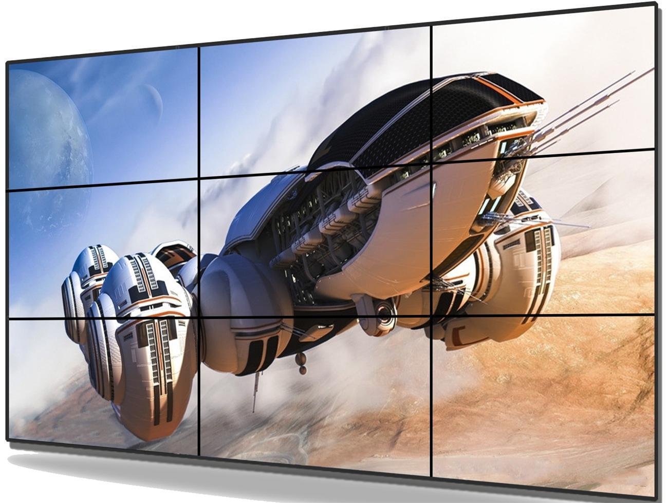 55 Inch FHD Narrow Bezel LCD Video Wall