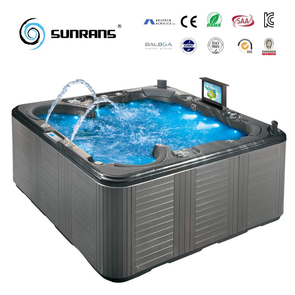 China luxury balboa system outdoor massage spa hot tub for Luxury hot tub