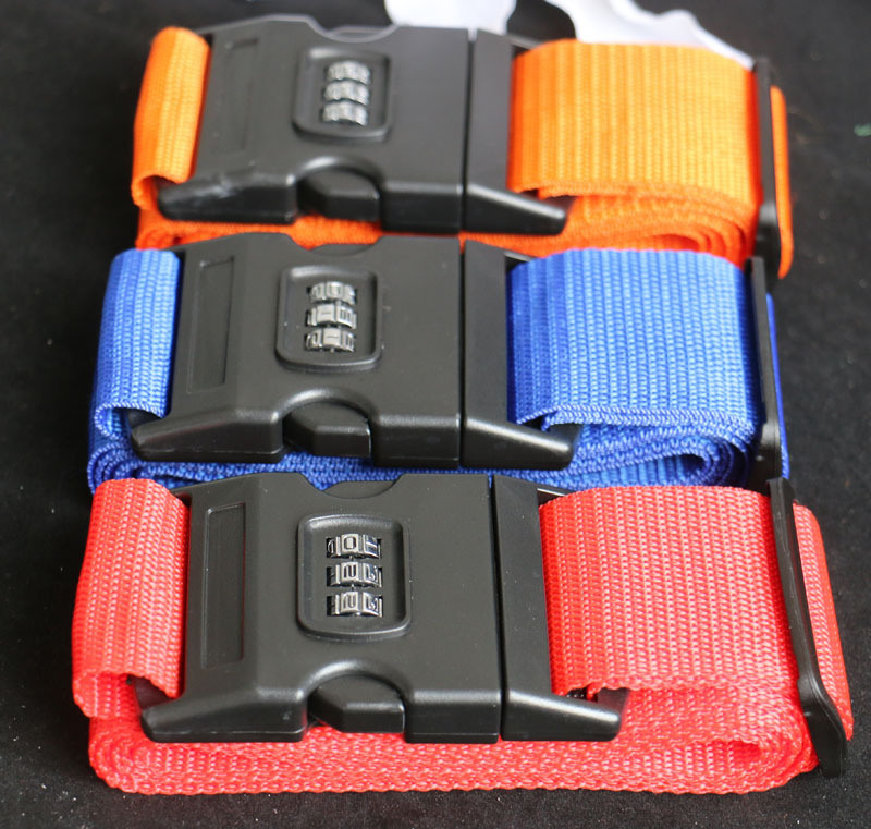 Luggage Straps with Tsa Lock pictures & photos