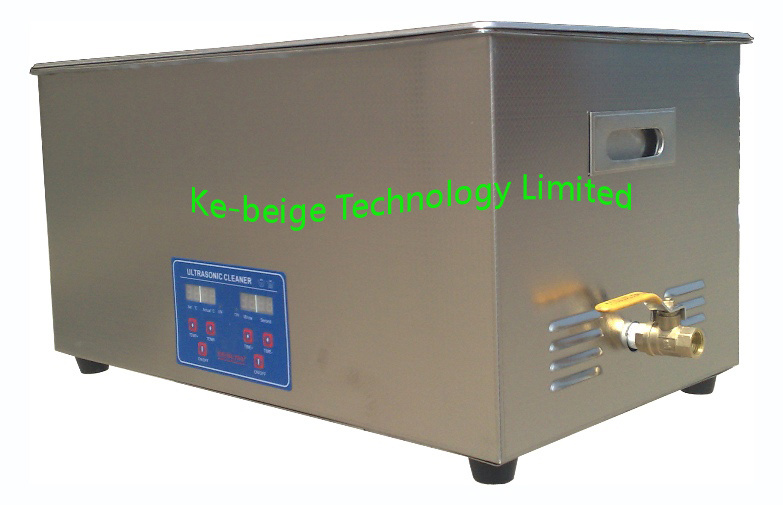 30L 600W Digital Ultrasonic Laboratory Cleaner with Heating