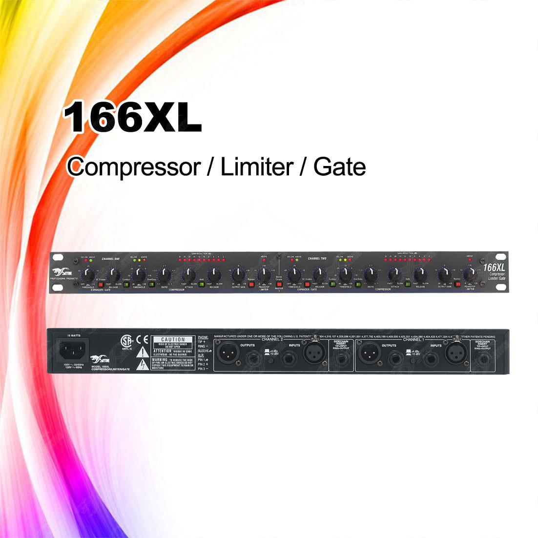 China 166XL Audio Compressor, Audio Limiter - China Compressor, Limiter