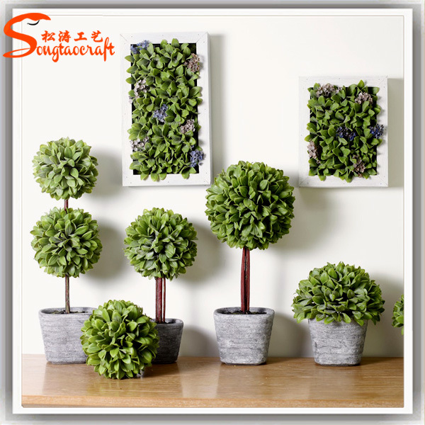 China Hot Sale Indoor Artificial Mini Topiary Grass Ball China Artificial Grass And Artificial Grass Ball Price