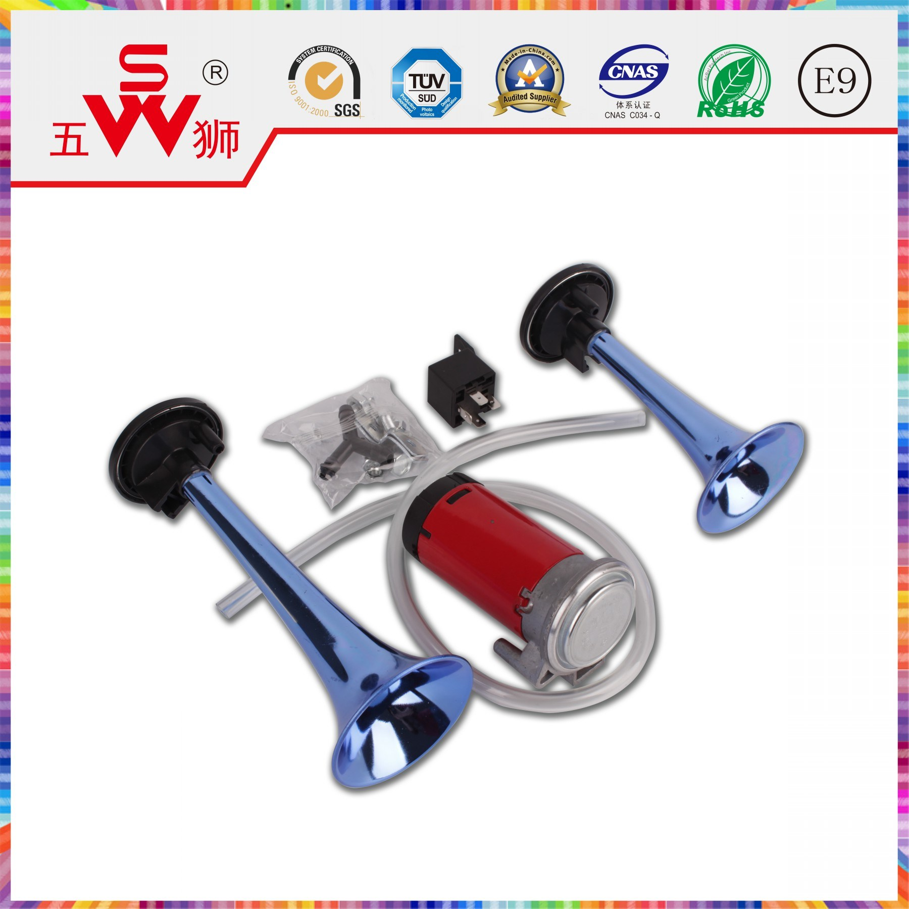 Loud Car Horn >> China Abs Loud Electric Car Horn China Siren And Speaker Car Horn