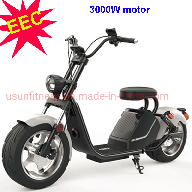 Electric Motor Scooter >> Hot Item Eec Electric Scooters With 3000w Motor And 20ah Removable Battery For Adult