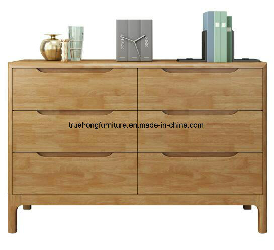 Apartment Project Solid Wood Tv Cabinet Wooden Console Table