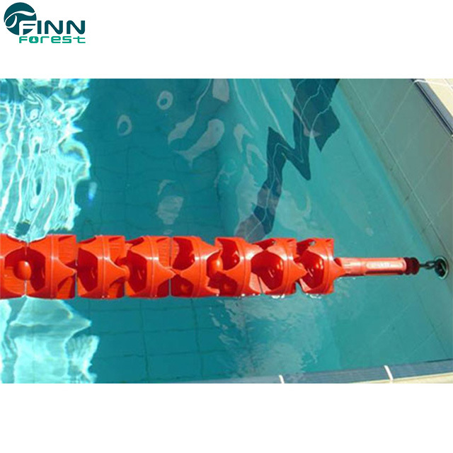 [Hot Item] Stainless Steel or Nylon Wire Colorful Swimming Pool Lane Rope