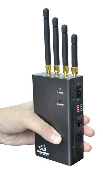 High Power Handheld Cell Phone Jammer (GSM+3G) (TG-120-PRO)