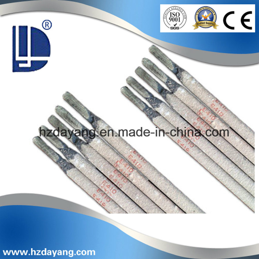 China Stainless Steel Welding Electrode Aws E410-16 / MIG Welding ...