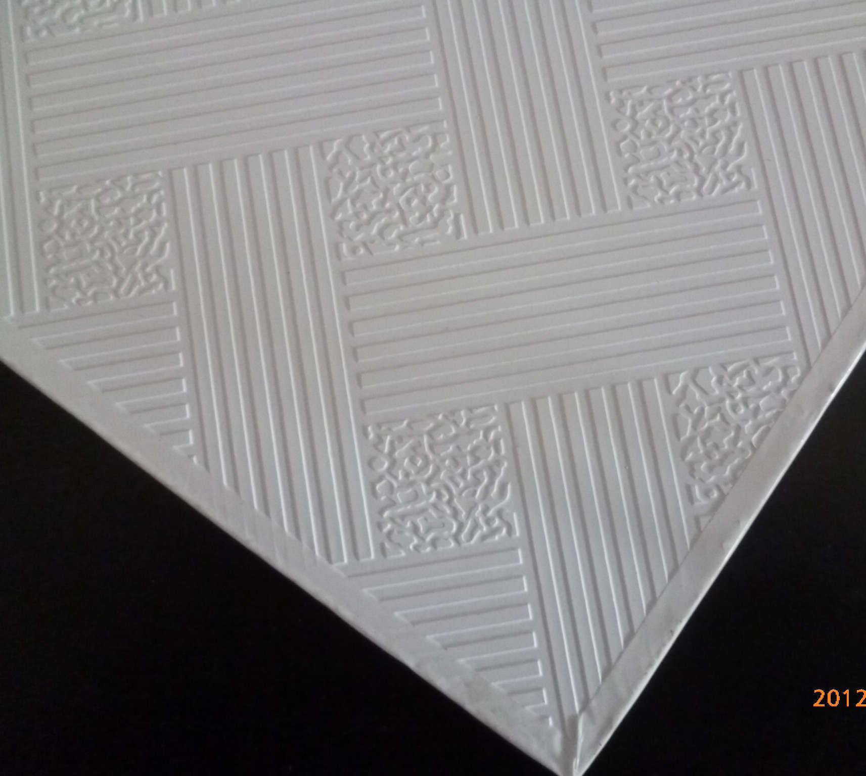 China Pvc Coated Gypsum Ceiling Tile China Pvc Gypsum Board Pvc