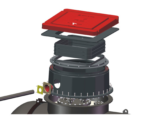 SMC Composite Round Oil Tank Sump System for Gas Station