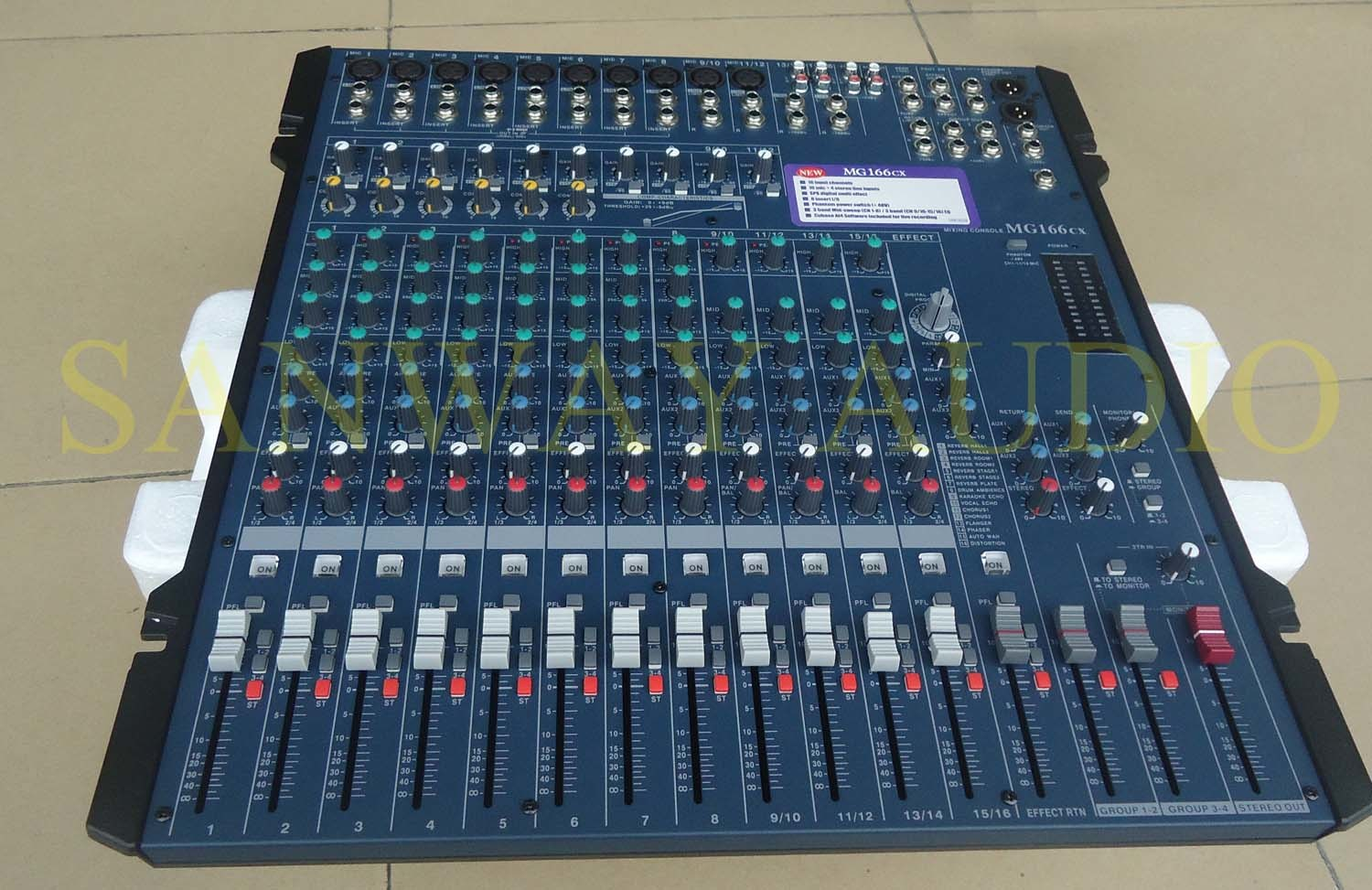 16 CH PRO Performance DJ Audio Mixer (MG166CX) pictures & photos