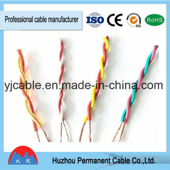 china flexible rvs 2 0 5mm2 single pair twisted pair cable wiring rh yjcable en made in china com twisted pair cable circuit Twisted Pair Schematic Diagram