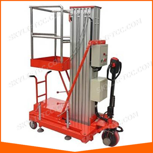 China Automatic Battery Power Single Man Lift for Home
