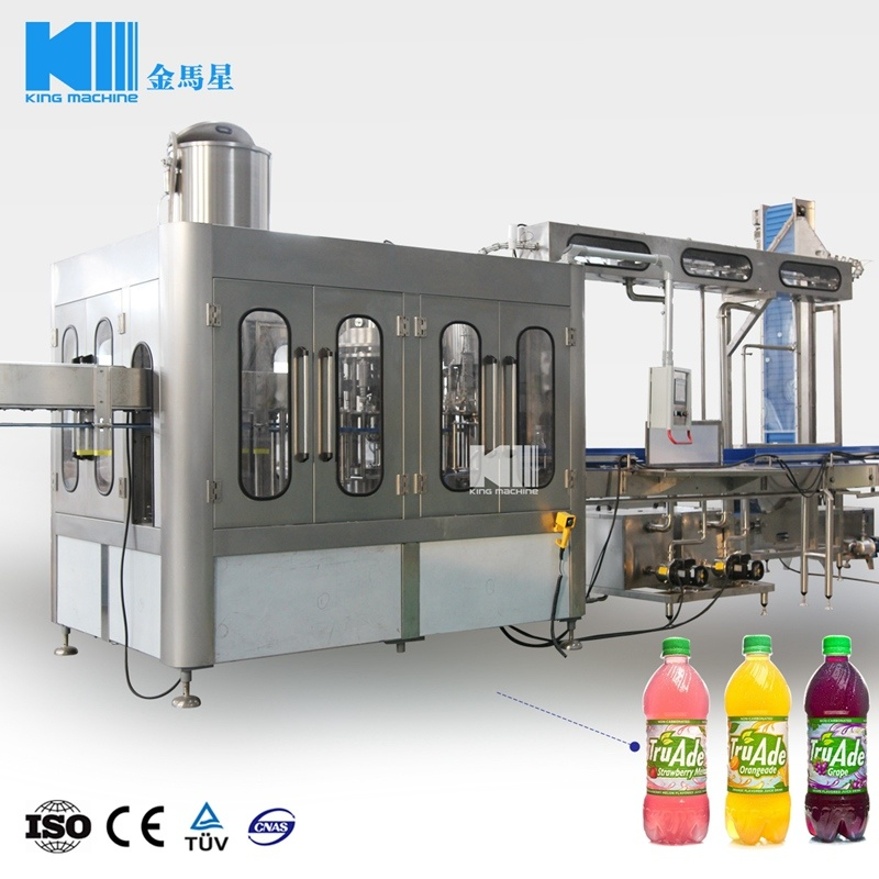 Hot Item Pet Bottle Fruit Juice Hot Filling And Packaging Machine