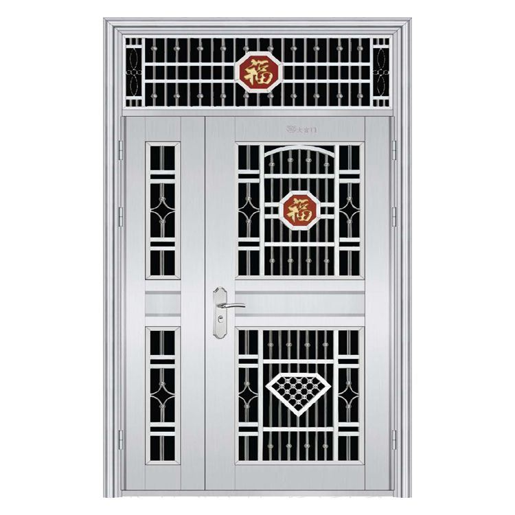 China Mather and Son Main Stainless Steel Gate Door Design - China ...