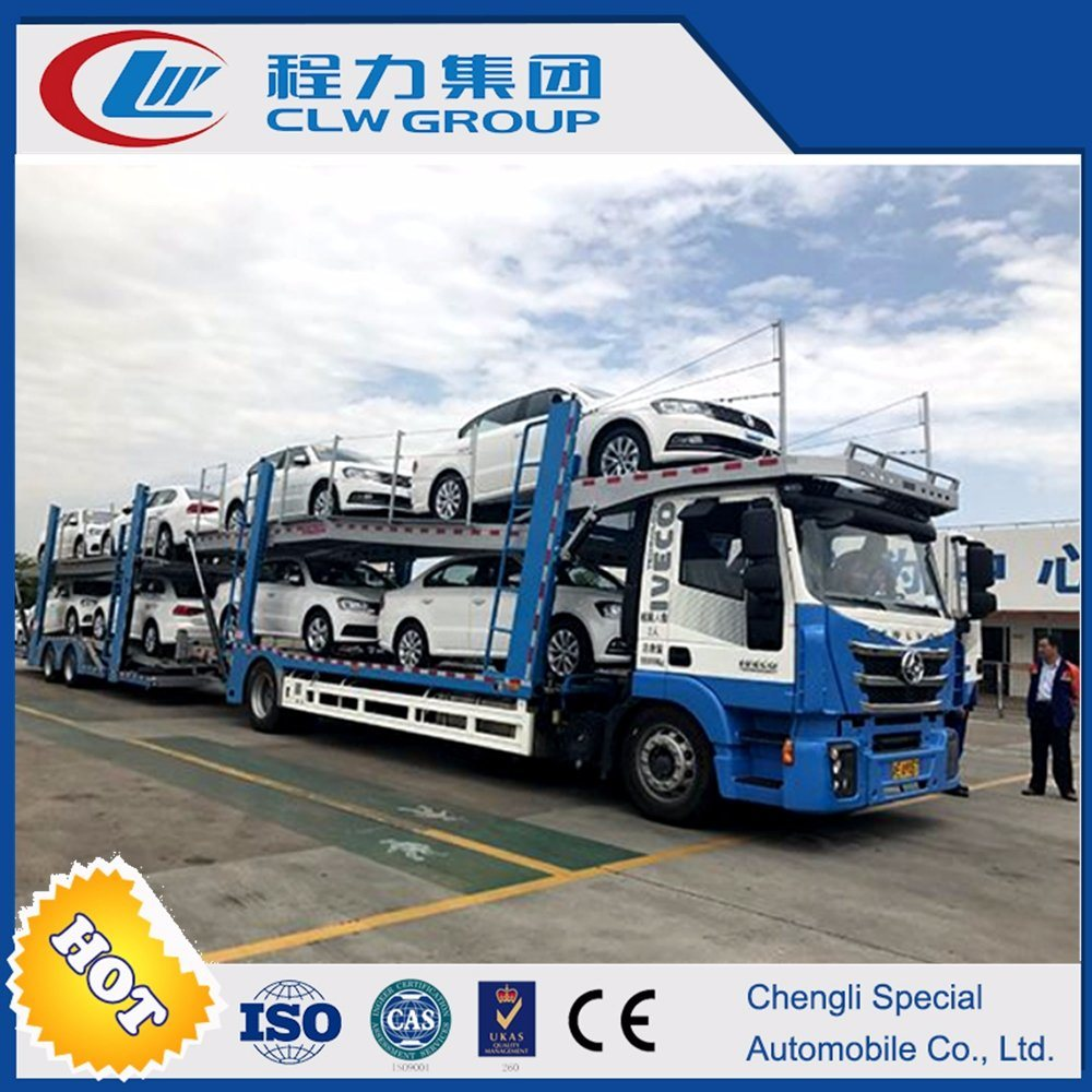 China Iveco Cars Carrier Truck and Trailer for Sale - China Cars ...
