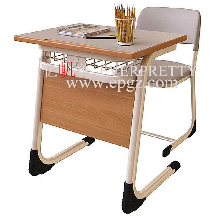 [Hot Item] Standing Desk Manual Height Adjustable Wooden School Desks for  Sale