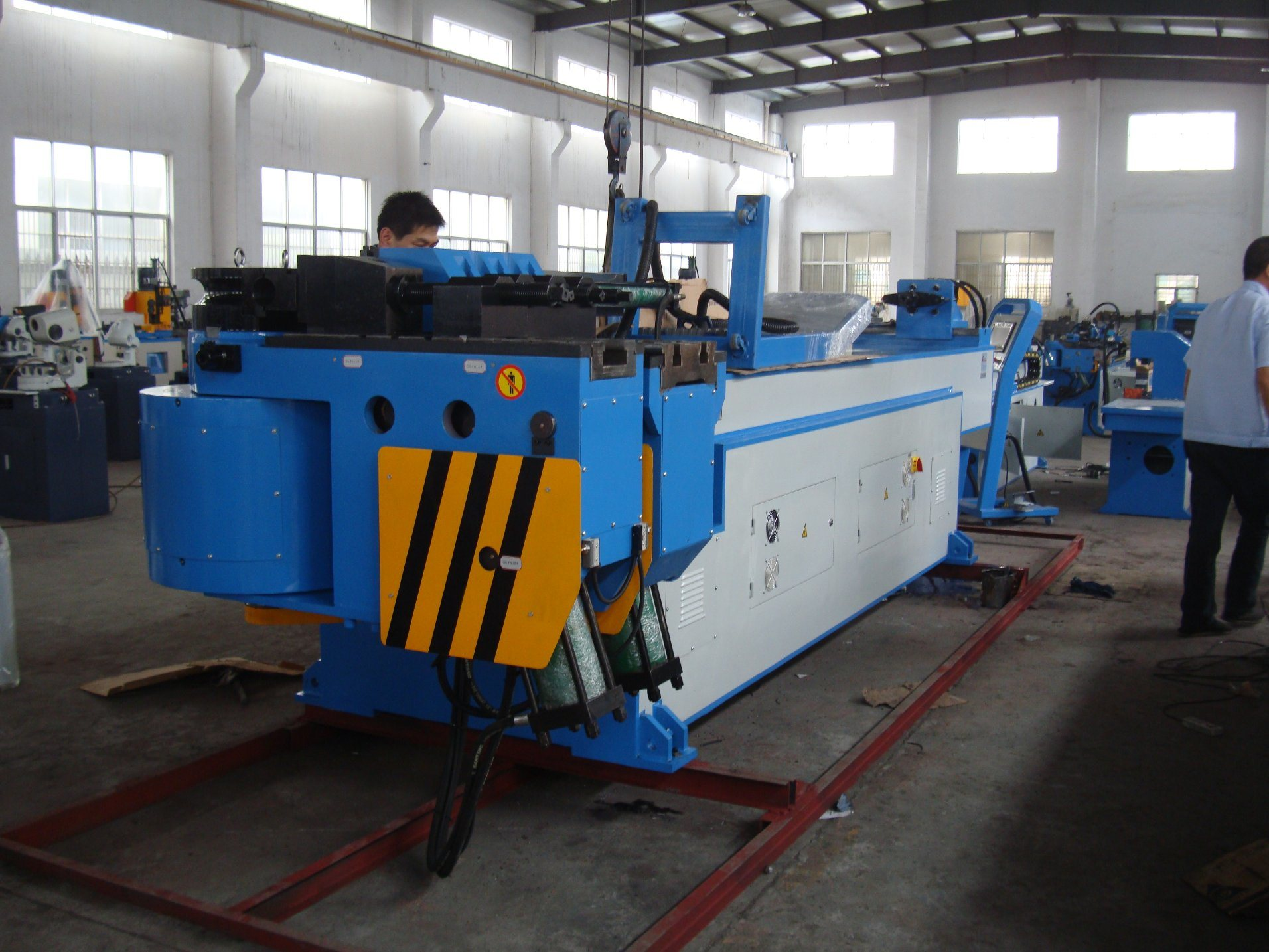 with Mandrel Exhaust Pipe Bending Machine GM-129ncb & China with Mandrel Exhaust Pipe Bending Machine GM-129ncb Photos ...