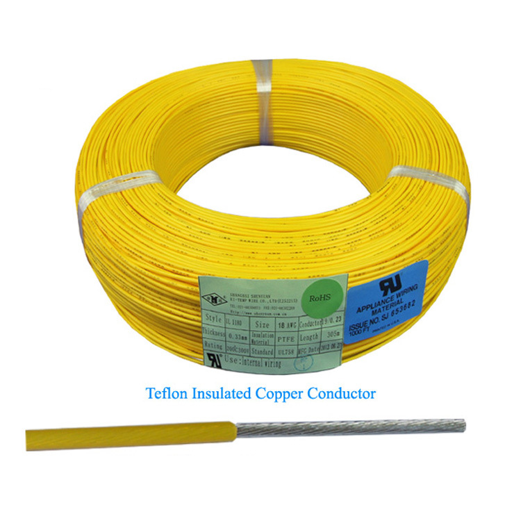 China UL Stype Wire 14 16 18 20 Gauge Teflon PTFE Wire Photos ...